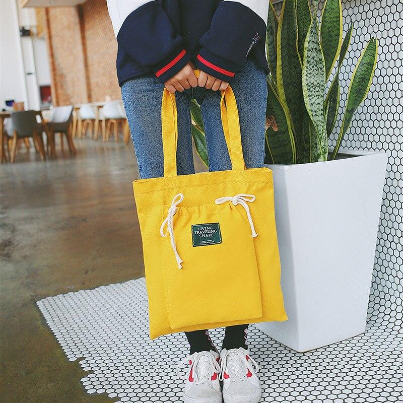 Fashion Women Letter Fold Over Canvas Shoulder Bags 2018 New Arrival Soft Zipper Female Students Girls School Handbags 3 Colors