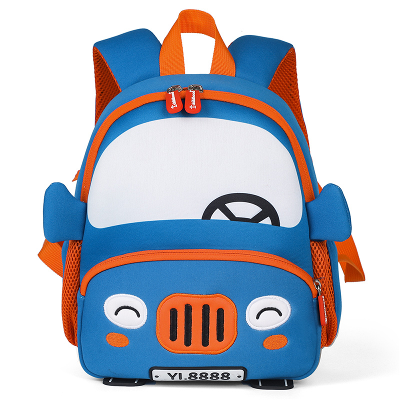 3D Cartoon Car Backpacks For 2-5 Years Old Children Fashion Cute Kindergarten Kids School Bags Boy Schoolbag Mochila Escolar