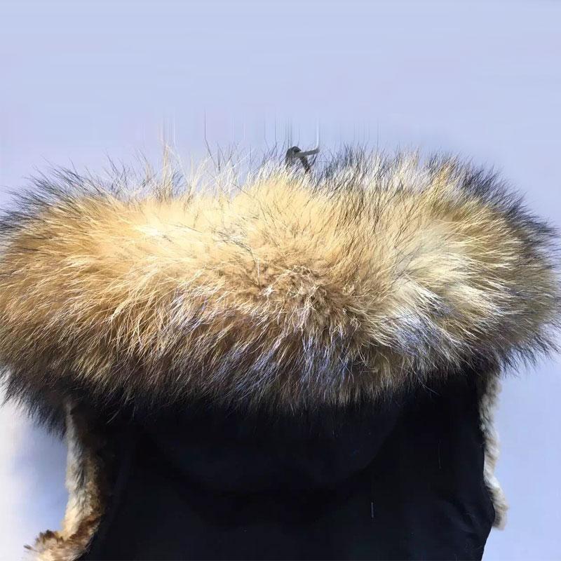 Taille Noir Courte En Grande Fausse Fourrure D'hiver Abricot Gilet Doublure Col Et Veste Automne xZ8FwqHx