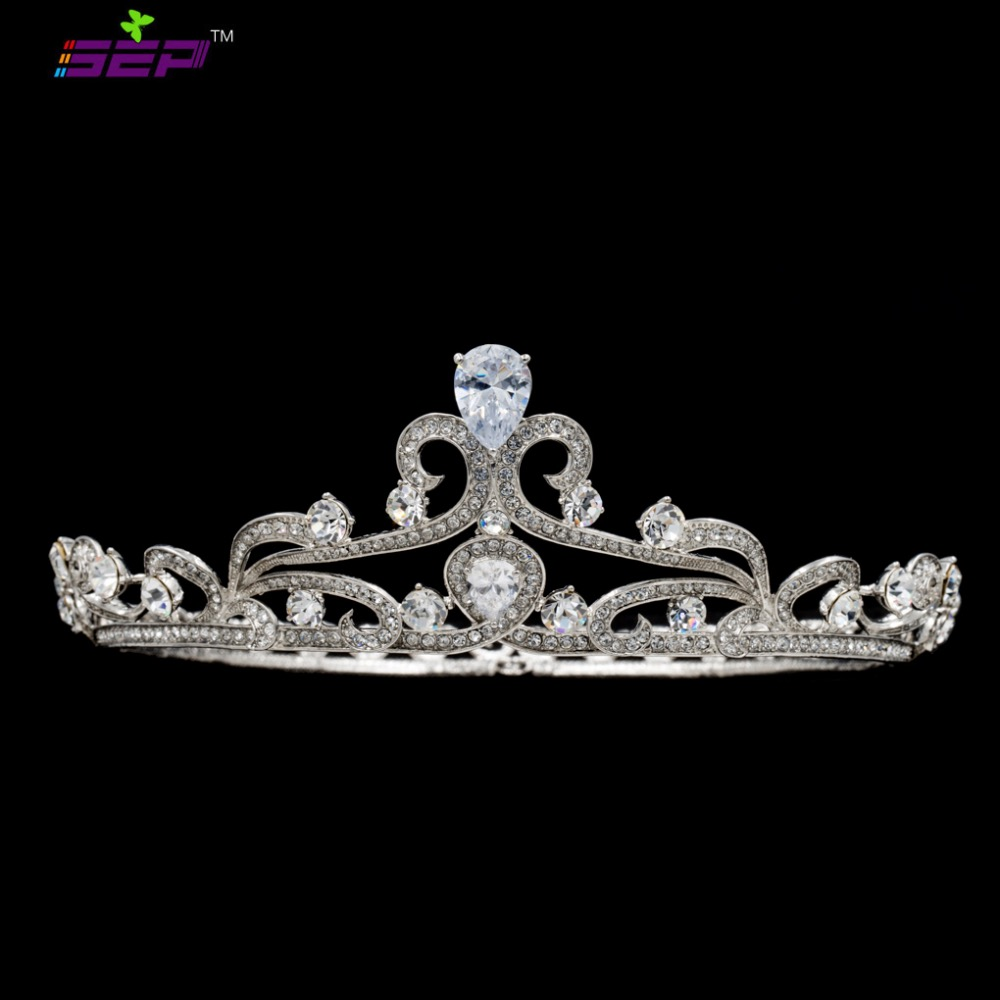 Popular Real Tiaras Buy Cheap Real Tiaras Lots From China