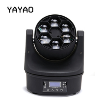 YA Yao LED 6x15W Super Beam Moving Head LED Beam Light Perfect Effect Stage Light For DJ Disco Party Clubs Lighting RGBW Light шапка check ya head check ya head mp002xu0e71z