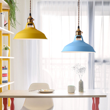 Yaratıcı Renk Ferforje Kolye ışıkları Kişilik Kahve Mağazası Giyim Mağazası Masa Cafe Basit Pot Lamba Edison Işık LO8811