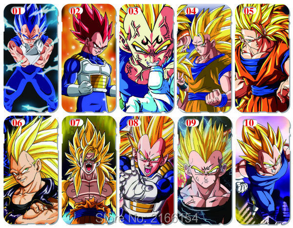 Dragon Ball Вегета крышка для Iphone 5 5S SE 5C 6 6 S 7 Plus Touch 5, 6 для Samsung Galaxy s3 S4 <font><b>S5</b></font> Mini S6 S7 Edge Примечание 3 4 5 Чехол