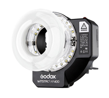 Godox Witstro AR400 400W Li-ion Battery HSS 2in1 Ring Flash Speedlite LED Light FREE SHIPPING