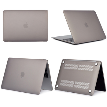 Matte Gray Hard Case For Macbook Air & Pro 7