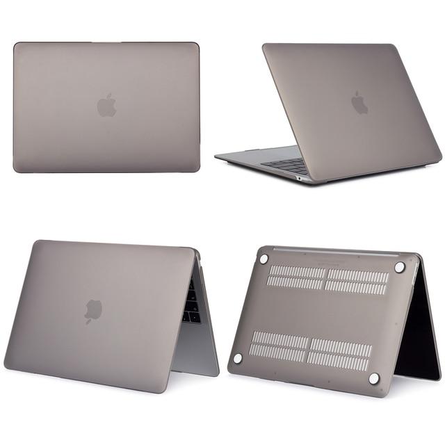 Matte Gray Hard Case For Macbook Air & Pro 7