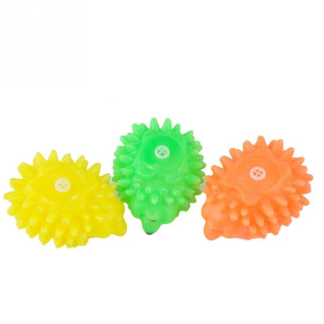 Hot All'ingrosso Cute Puppy Dog Squeaky Chew Giocattoli Hedgehog Forma Pet Dog P