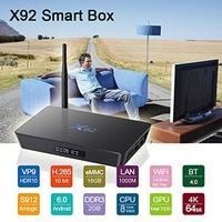 X92 TV Box Amlogic S912 Smart Android 6 0 TV Box 2GB 3GB 16GB Octa Core