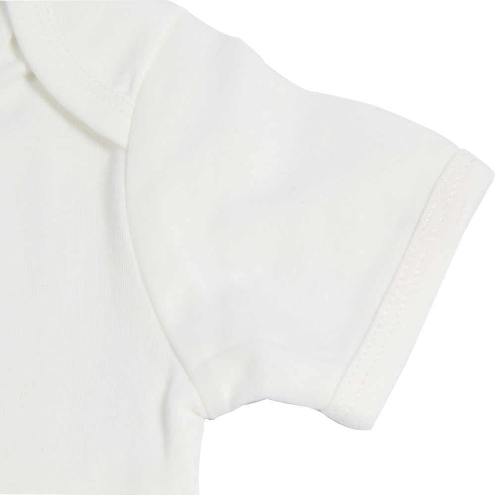 Боди с короткими рукавами для маленьких мальчиков и девочек, летняя детская одежда, хлопковые футболки с буквенным принтом, топы для детей, футболки для детей 0-12 месяцев