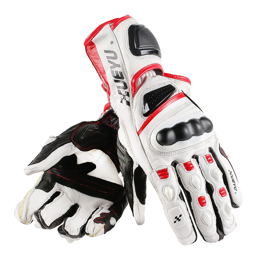 XUE YU Genuine Cow Leather Motorcycle Gloves High-end Fully Protect Motocross Motorbike Guantes Luva Guanti Gants Moto MTO-023 цена
