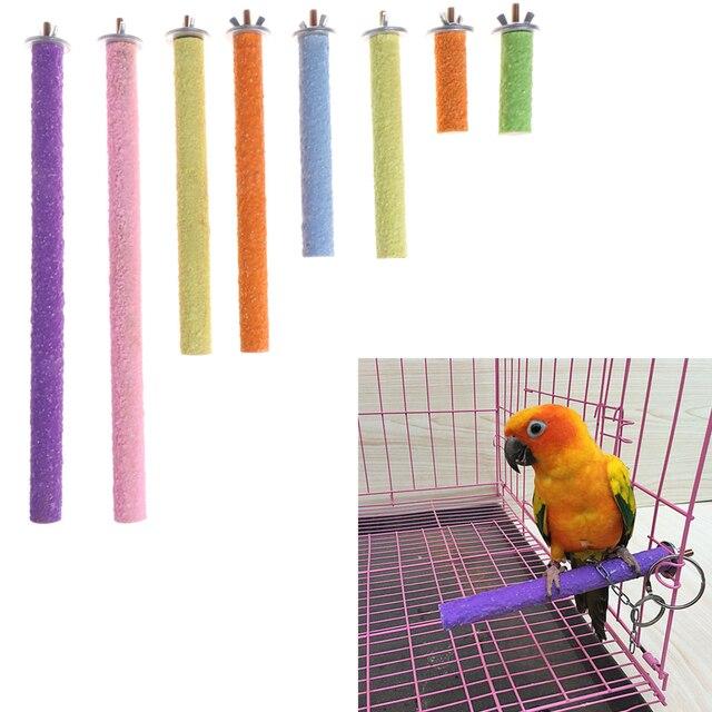 Bird Parrot Perch Stand Holder