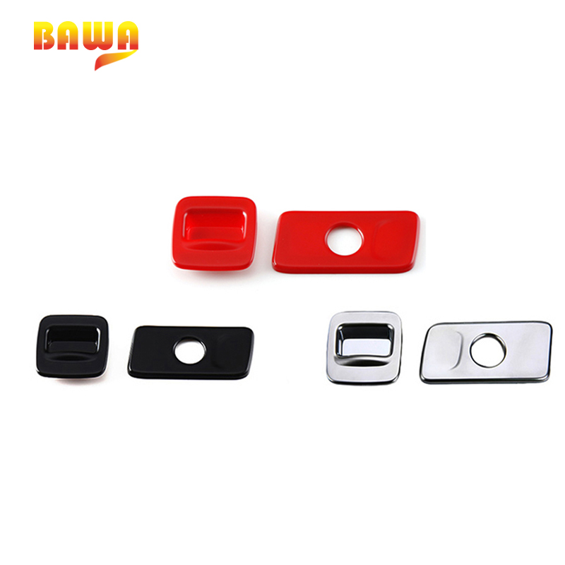 BAWA Interior Mouldings Front font b Storage b font Box Button Decoration Trim Stickers for Jeep