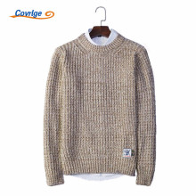 Covrlge 2017 Men's Sweaters Solid Color O-Neck Pullover  Autumn Winter Male Casual Free Shipping Brand-Clothing M-3XL MZM015