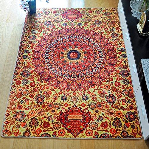 floors lifestyle rug distressed modern bohemian area rugs new itm jishna