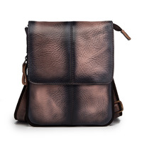 Fashion Real Leather Multifunction Casual 8 Pad Cross body Bag Slim Satchel Messenger Bag Hip Bum Pouch Waist Belt Pack 8713d