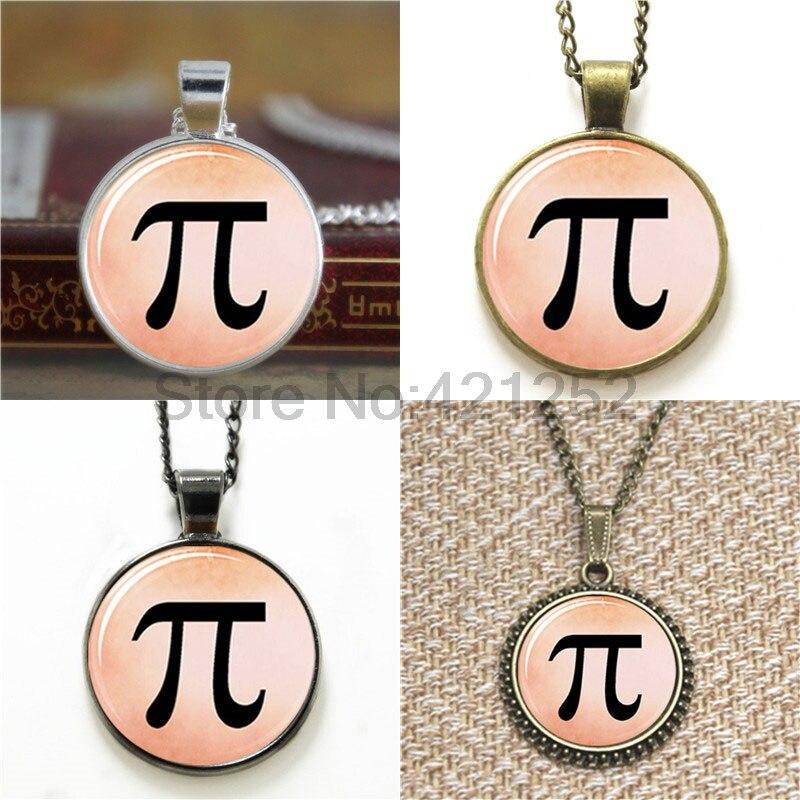 Pi Maths glass cabochon necklace keyring bookmark cufflink earring
