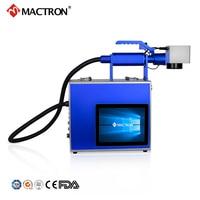 Handheld Portable Fiber Laser Marker 20W Fiber Laser