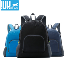 купить Women Travel Backpack Leisure Folding Backpacks For High School Bags Nylon Waterproof  High Quality Men Rucksack Wholesale дешево