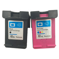 New High Quality Ink Cartridge For HP 63 XL For HP 63 Officejet 2620 For ENVY