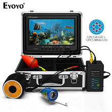 EYOYO EF09PRO, 9 Дюймов, 30 м, рыболокатор, подводная рыболовная видеокамера, светодиодный рыболокатор, блок управления батареей, Камара, видео, pesca, подводная лодка