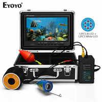"""EYOYO EF09PRO 9 """"30M buscador de peces cámara de vídeo de pesca submarina Led buscador de peces caja de control de batería camara Video pesca submarina"""