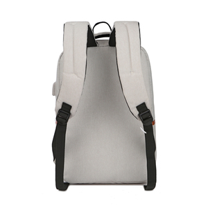 Image 5 - Unisexe nouvelle mode affaires voyage USB sac à dos toile sac dordinateur portable grande capacité sac à dos mâle femme bagages