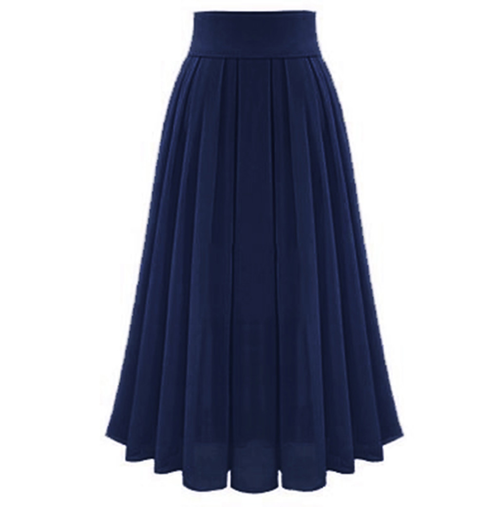 Womail Skirt  Skirts Summer Ladies Women's Sexy Party Chiffion Skirts High Waist Lace-up Hip Long A-Line Skirt 2019 May29 13