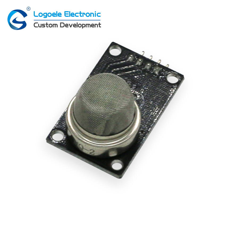 The smoke gas sensor of gas sensor for the detection of MQ-2 qualitative detection module