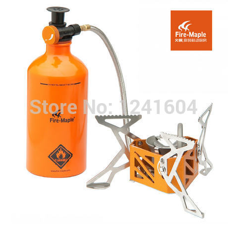 Fire Maple FMS-F3 Outdoor Engine Split Camping Stove Gas Kerosene Stove Sets Picnic Stove FMS-B500 FMS-B750 FMW-501 FMS-F3 fire maple fmw 503 outdoor portable 5 folding 9 section camping cooking stove windshield silver