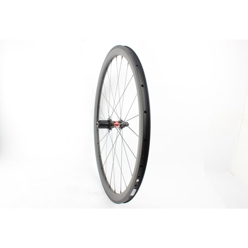 clincher bicycle carbon wheels