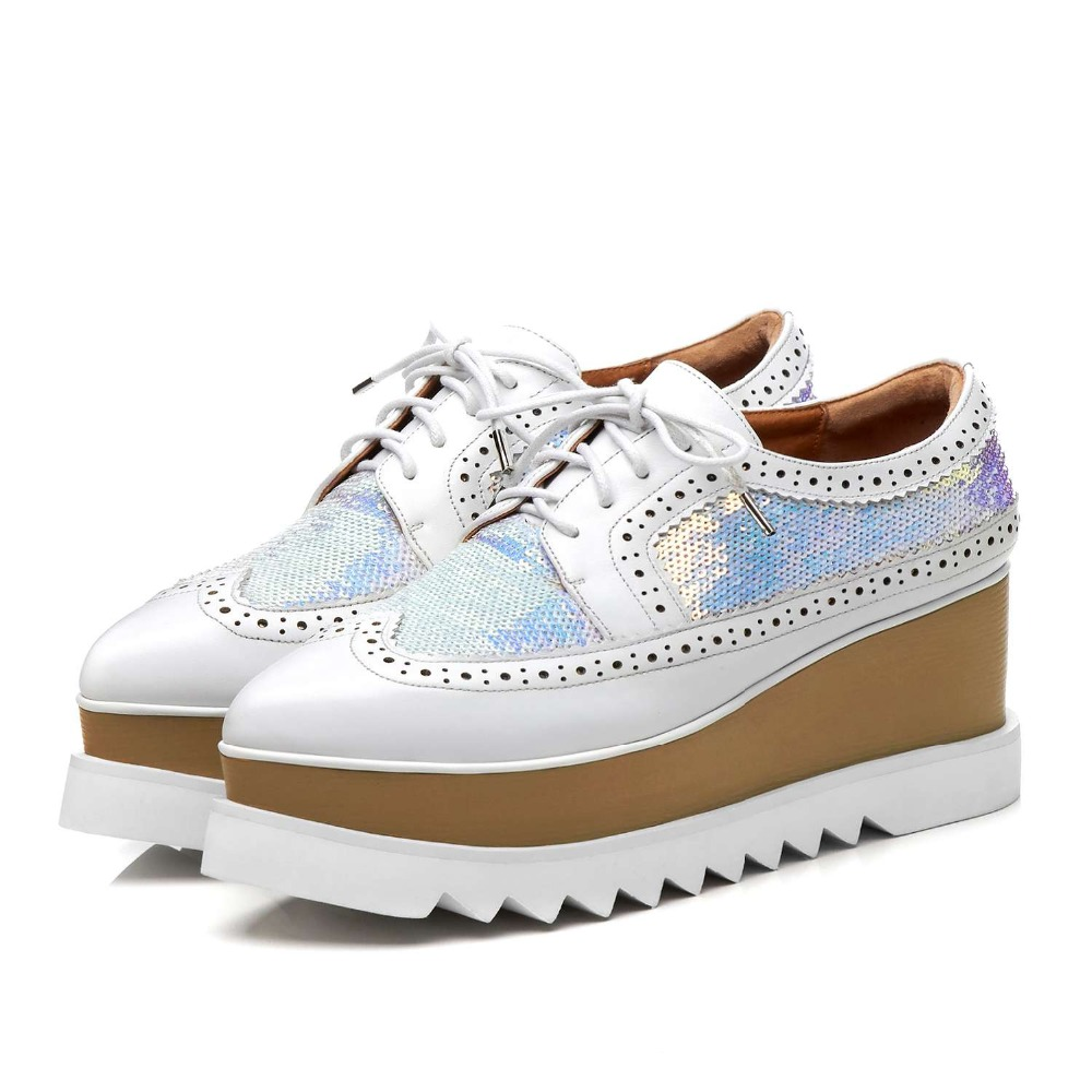 Incontri, casual, moda bianco collare di cuoio stivali - 3