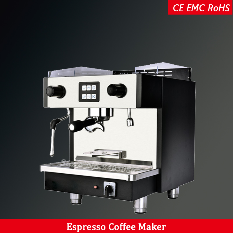 Single Group Electric Commercial Italian Espresso Coffee Maker Machine for cafe and coffee shop machine