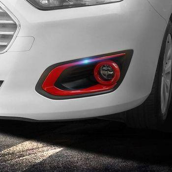 Automobile Decoratieve Mistachterlicht Body Koplamp Exterieur Onstuimige Covers Protecter Auto Styling 17 18 19 VOOR Ford Escort