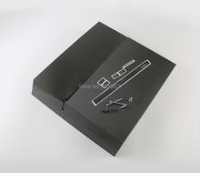 Volledige Behuizing case Voor PS4 Console volledige set Behuizing shell case Zwart voor ps4 1100 console