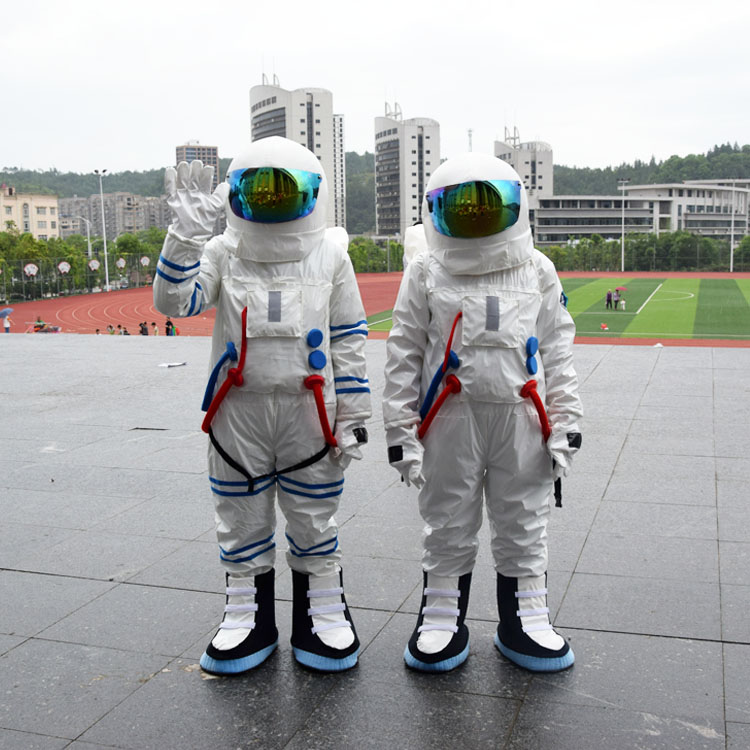 Hot Sale High Quality Space suit&Astronaut costume with Backpack&LOGO glove&shoes