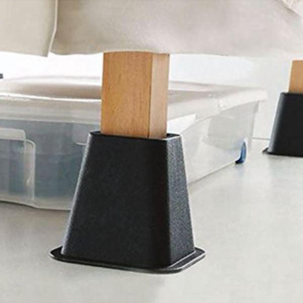4pcs PP Chair Leg Caps Feet Pads Furniture Table Covers Socks Floor  Protectors Furniture Risers Aid