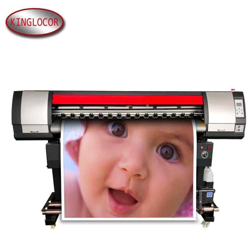 Одна печатающая головка многоцветный струйный принтер для печати фото/1,6 м большой формат Ecosolvent принтер баннер стикер PP бумага