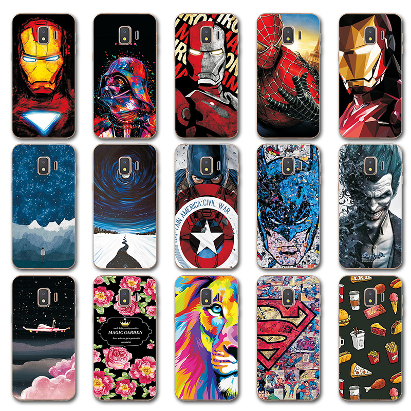 Novelty Phone Bags For Samsung Galaxy J2 Core Case For Samsung J2 Core Iron Man Painted Tpu Case Cover J 2 J2core Sm-j260f 5.0 Wide Selection; Cellphones & Telecommunications Fitted Cases