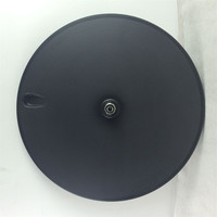 free shipping Carbon disc wheel, road disc wheel, bicycle wheel, 700C Cycling Track disc wheels