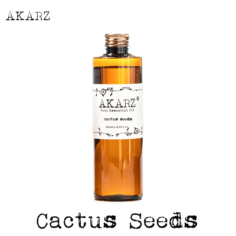 AKARZ Famous Brand Natural Cactus Seeds Essential Oil Natural Aromatherapy High-capacity Skin Body Care Massage Spa