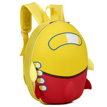 Baby HIINST Airplane Hard shell Plush Backpacks Girls Boys Kids Cute Cartoon Eggshell Backpack Toddler School Bag dropship(China)