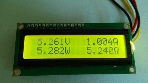 1 Pz Coulomb Lcd Tensione Corrente Meter Di Prova Della Capacità Della Batteria