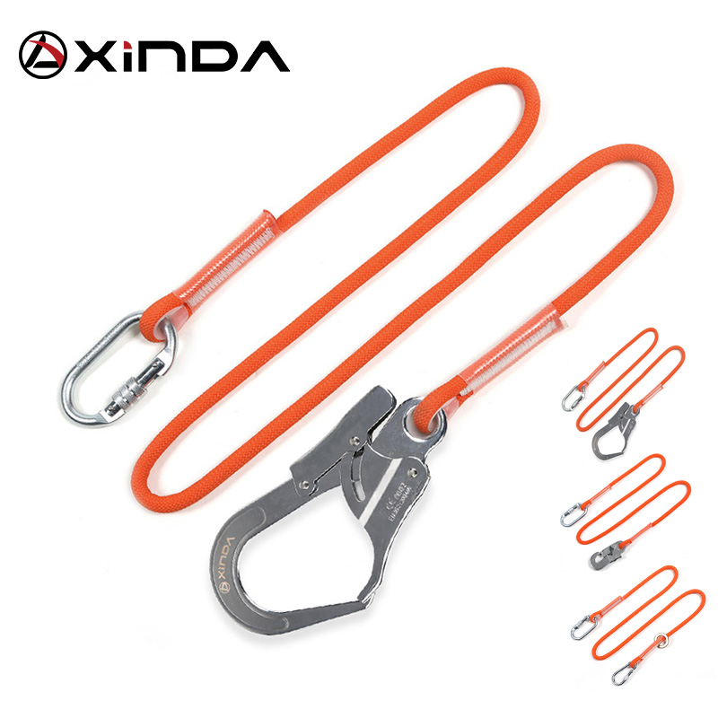 XINDA Professional High Altitude  Protective Safety Belt Nylon Sling Belt With Hook High Strength Wearable Anti Fall Off