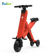 2016 CHAUDE Pliable Électrique Scooter Portable Mobilité Scooter électrique vélo pliant Vélo de batterie au lithium