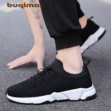 buqima 2019 New Mesh Men Casual Shoes Comfortable Lightweight Breathable Walking Sneakers