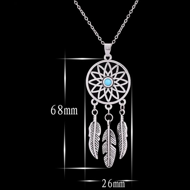 Indian Reiki Dreamcatcher Necklace