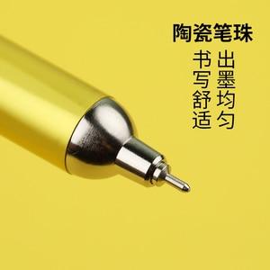 Image 3 - יפן OHTO אופק לדחוף צבע ג ל עט 0.5mm NKG עסקי משרד חתימת עט Kawaii ציוד לבית ספר 1 PCS