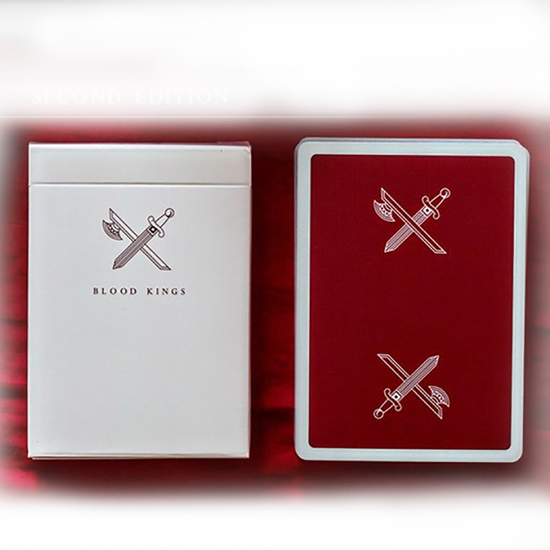 BLOOD KINGS V2 Ellusionist Playing Cards
