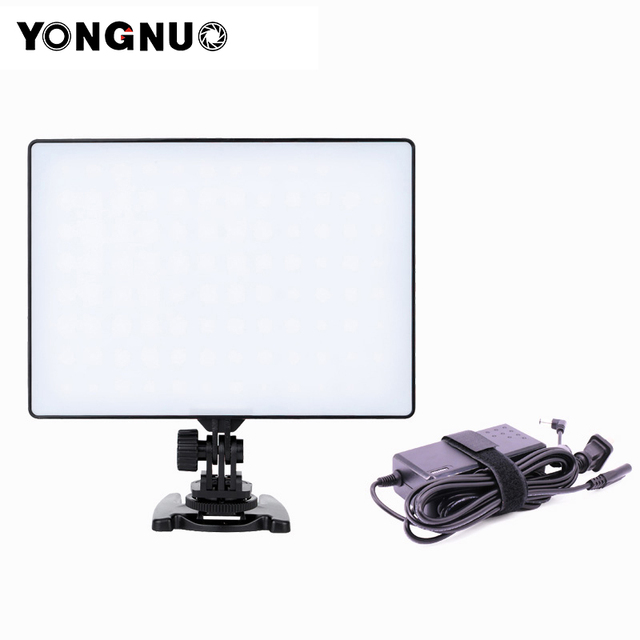 YONGNUO YN300 Air 3200K-5500K LED Video Light Panel with Power Adapter YN300air for Wedding Video Photography