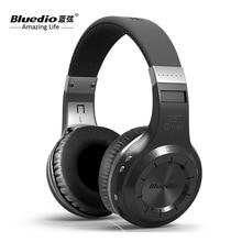 العلامة التجارية الجديدة Bluedio HT سماعة لاسلكية تعمل بالبلوتوث الإصدار 5.0 سماعات رأس لاسلكية العلامة التجارية سماعات ستيريو التطبيقات مع ميكروفون مكالمات يدوي
